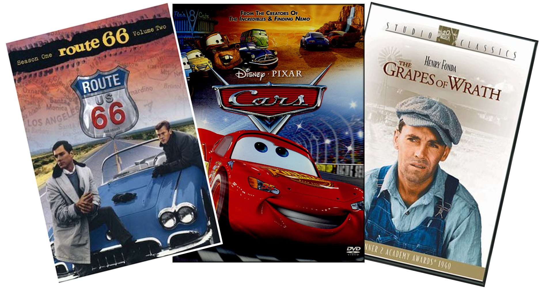 Route 66 TV Series, Cars, and the Grapes of Wrath