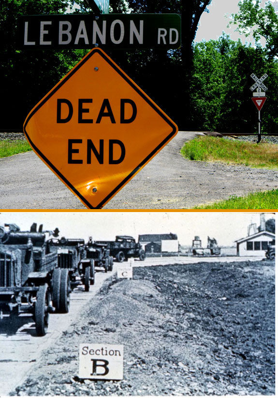 Lebanon Road, the Collinsville Gateway to Hell? / The Bates Experimental Road