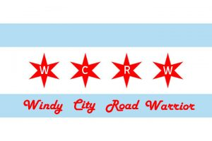 Windy City Road Warrior - Chicago Flag